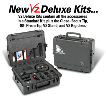 V2 Deluxe Video Borescope