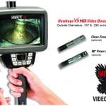 New Hawkeye® V3 HD Video Borescopes