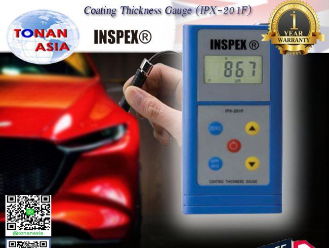 การใช้งานเครื่องวัดความหนาสี ผิวเคลือบ Coating Thickness Gauge IPX-201F INSPEX