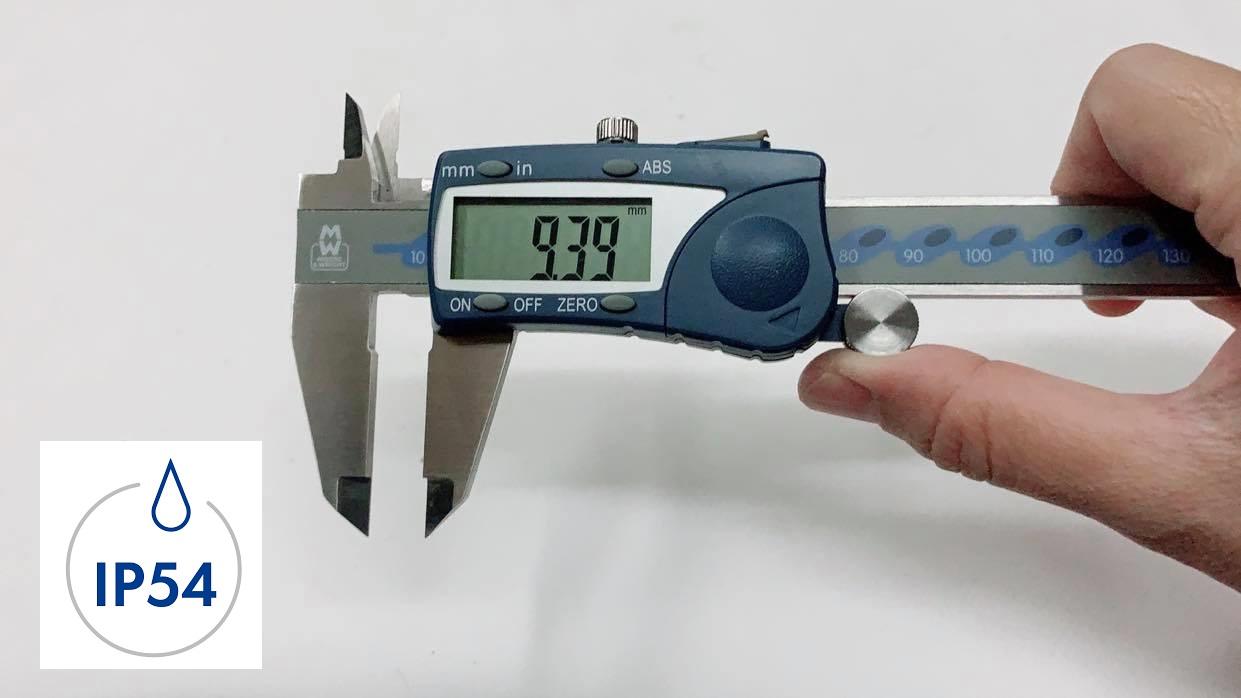 รีวิว เวอร์เนียดิจิตอล กันน้ำกันฝุ่นระดับ IP54 รุ่น MW110-15WR Moore&Wright Brand