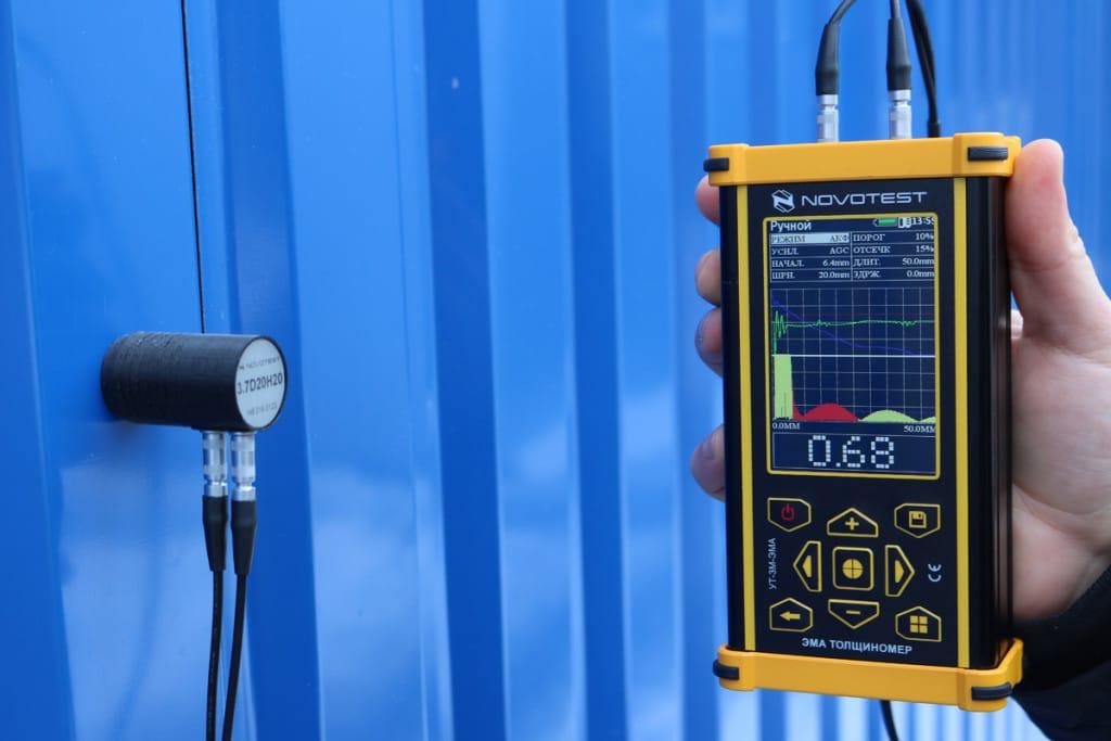 UT-3M-EMA EMA Thickness Gauge (Electro Magnetic Acoustic) NOVOTEST | Tonan Asia Autotech