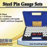 MW725 series Steel Pin Gauge Set โปรโมชั่น มิถุนายน 2563