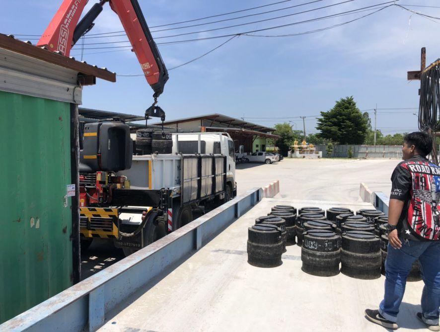 P CON2020 ผลงานการติดตั้งอุปกรณ์รับน้ำหนัก Load Cell ในเครื่องชั่งรถบรรทุก | Tonan Asia Autotech