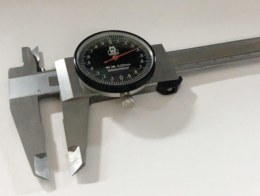 รีวิวและการใช้งานเวอร์เนียคาลิเปอร์แบบเข็ม MW140-15 Dial Caliper Moore&Wright