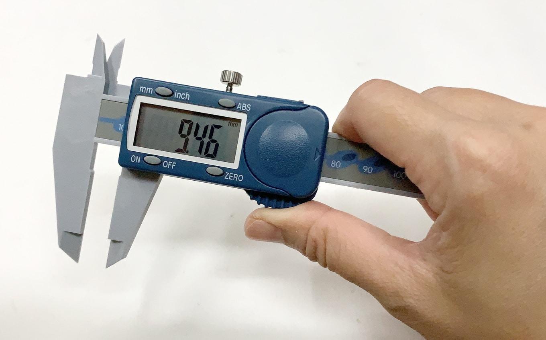 รีวิว เวอร์เนียพลาสติก Polycarbonate Digital Caliper MW110-15DPC