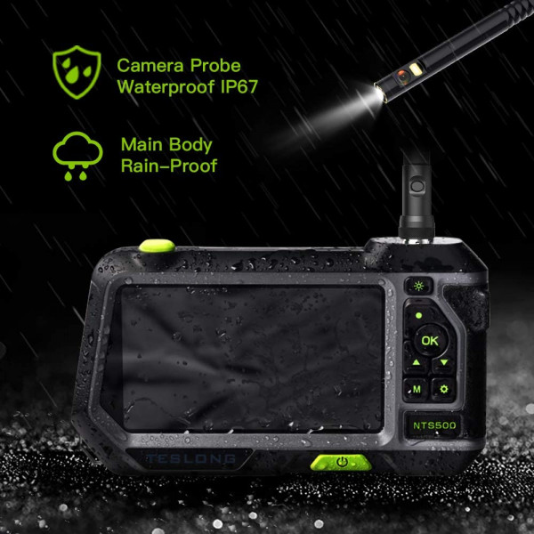 รีวิว บอร์สโคป กล้องงู 5.5มม ยาว3ม. Review Video Borescope