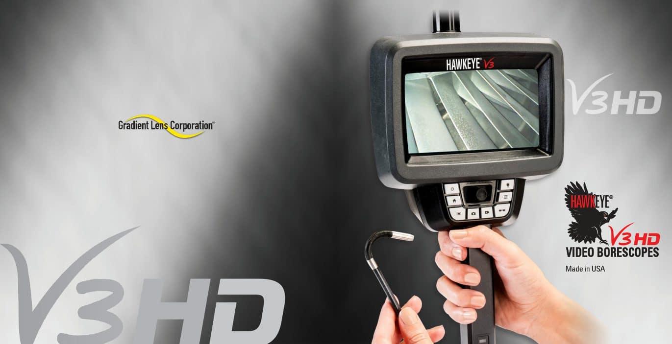 ใหม่ล่าสุด! แคตตาล็อกกล้องวีดิโอบอร์สโคป ชัดระดับ HD รุ่น V3 จาก Hawkeye Borescope