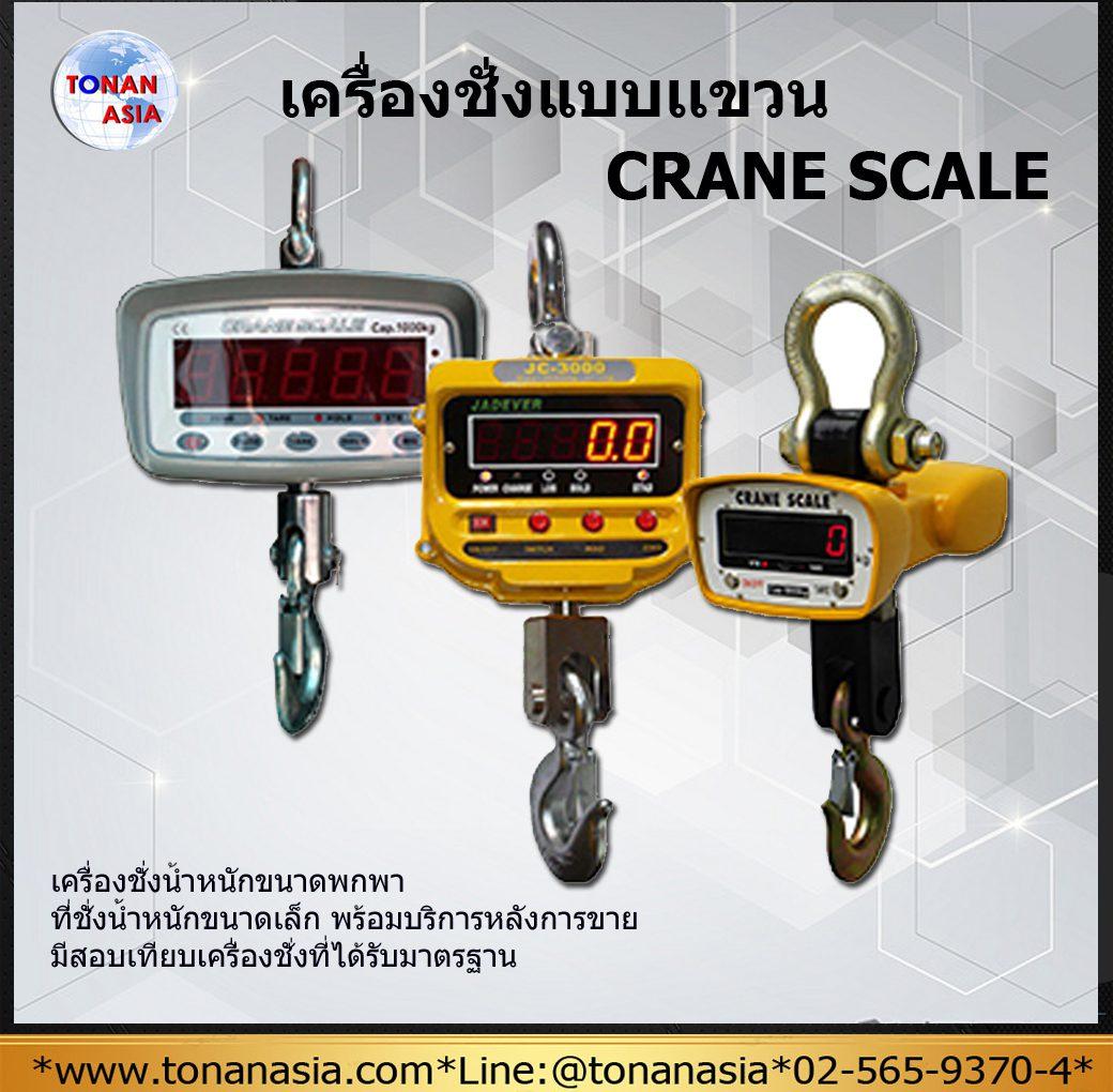 เครื่องชั่งแบบแขวน Crane Scale