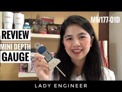 รีวิวเกจวัดความลึกแบบดิจิตอล MW177-01D Review Digital Mini Depth Gauge Moore&Wright