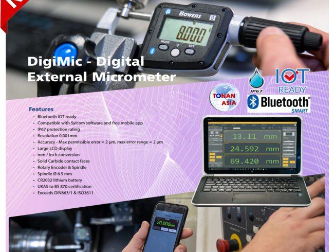 DigiMic-Digital External Micrometer